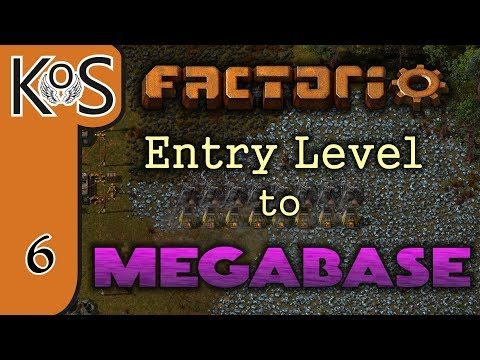 Factorio: Entry Level to Megabase Ep 6: STEEL SMELTING SETUP - Tutorial Series Gameplay