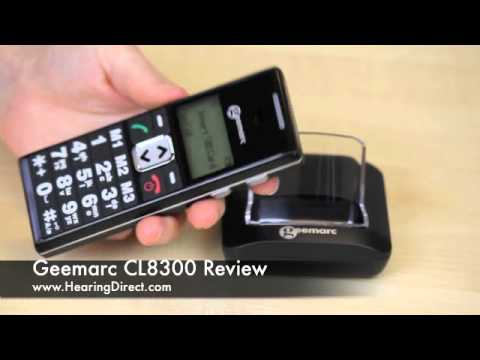 Geemarc CL8300 Review By HearingDirect.com