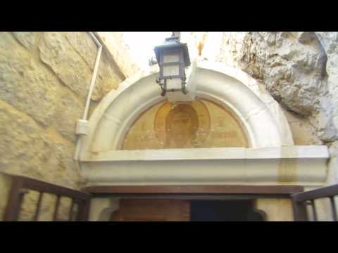 Comprehensive tour of the Monastery of the Temptation, Jericho. March 2014