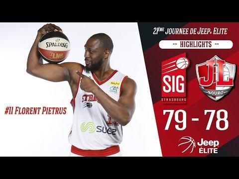 SIG Strasbourg-JL Bourg : Highlights et réactions de Florent Pietrus