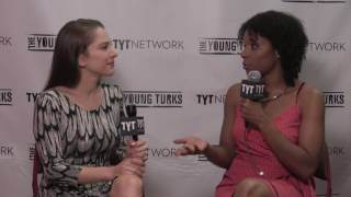 Zerlina Maxwell Interview At 2016 Democratic National Convention