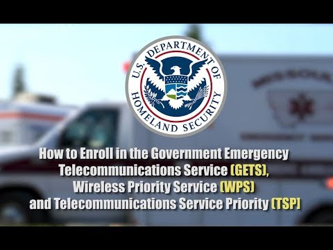 How To Enroll In The GETS, WPS And TSP