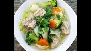 How To Make Pork And Vegetable Soup Recipe