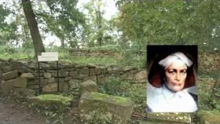 Die Ruinen von Kloster Disibodenberg: Hl Hildegard von Bingen