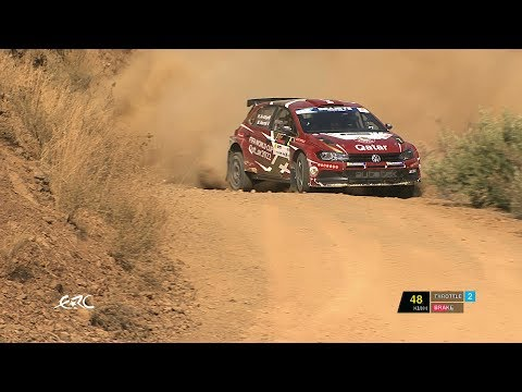 Cyprus Rally 2019 - Nasser Al-Attiyah on SS5 with data