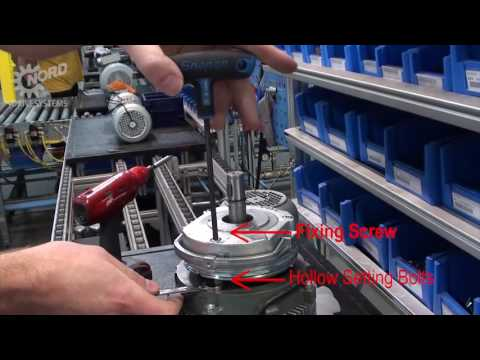 How to Adjust Brake Air Gap | NORD DRIVESYSTEMS Group - YouTube