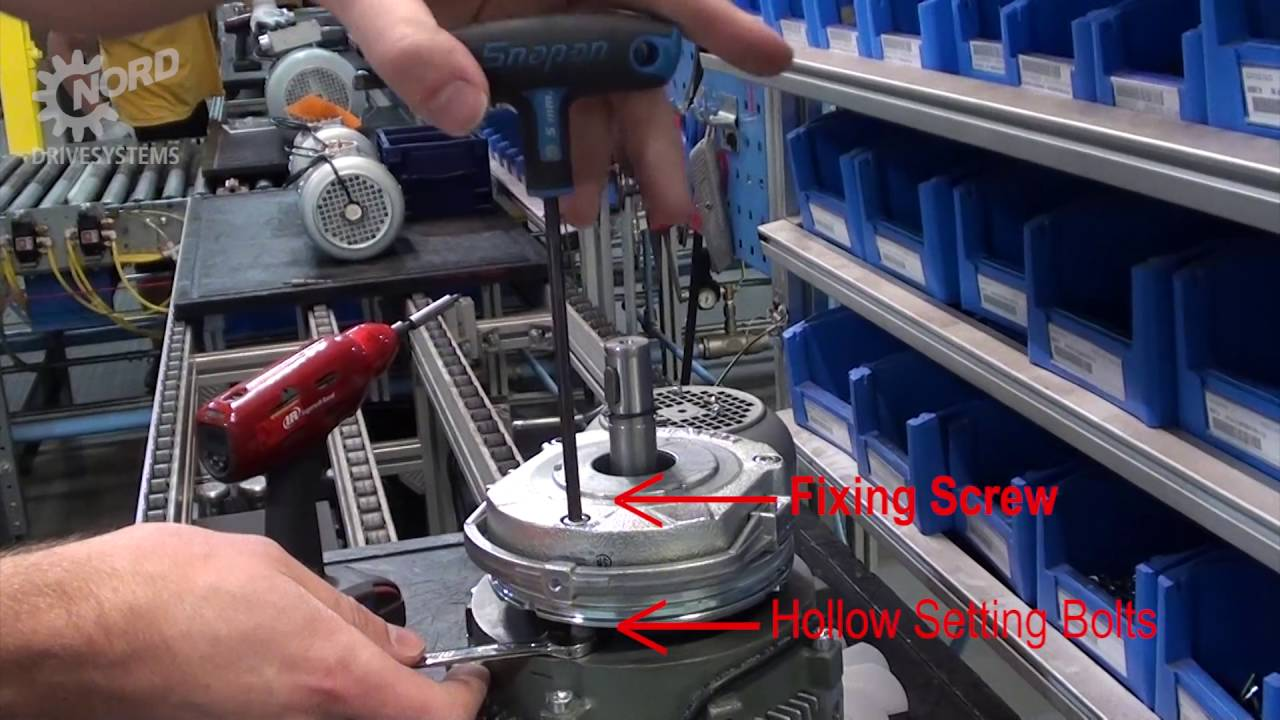 how to adjust brake air gap nord drivesystems group [ 1280 x 720 Pixel ]