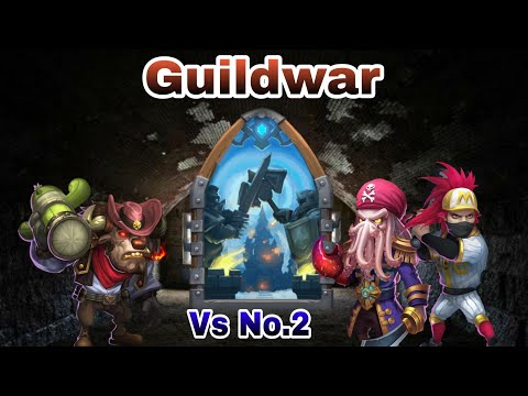 Guildwar   Mino Bomb Vs No.2 Guild   Top-5   Castle Clash
