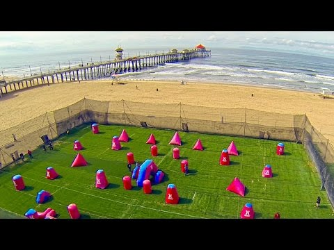 Paintball At The BEACH! // HK Army Surf City Paintball Open 2014