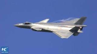China's stealth fighter J-20 makes public debut