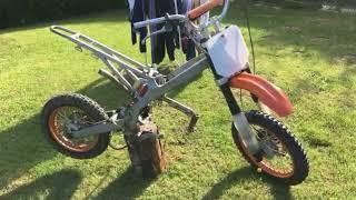 Mon dirt bike 125cc lifan