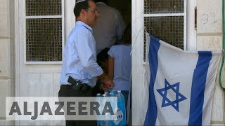 Israeli settlers seize Palestinian family homes in Hebron