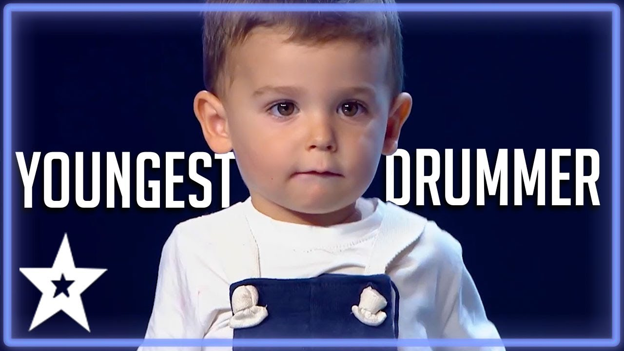 Download 2 Y.O Baby Drummer Is The Youngest Contestant on Got Talent | Kids Got Talent