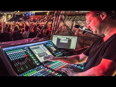 Antony King Interview Part 2 - Front of House Engineer for Depeche Mode