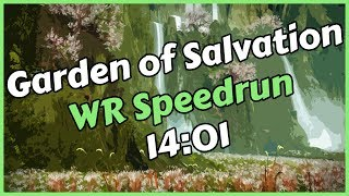 Garden of Salvation WR Speedrun in 14:01 by Fast x Bruh