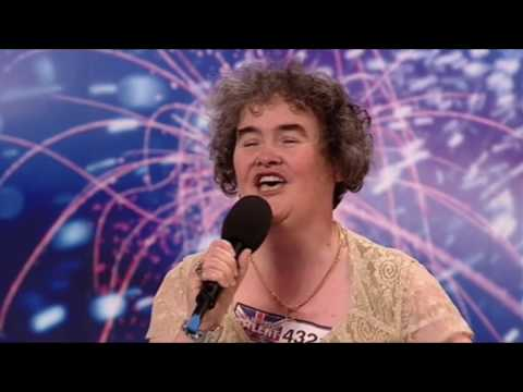 Susan Boyle Audition HD  FULL