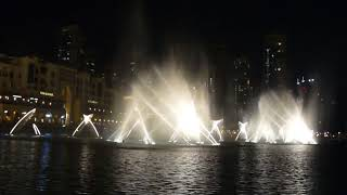 The Dubai Fountain - I Will Always Love You