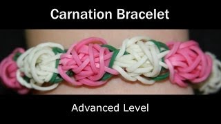 Rainbow Loom® Carnation Bracelet