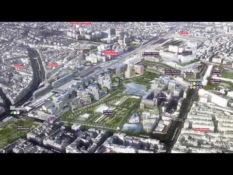 Projet Clichy-Batignolles - Le Paris du XXIème siècle
