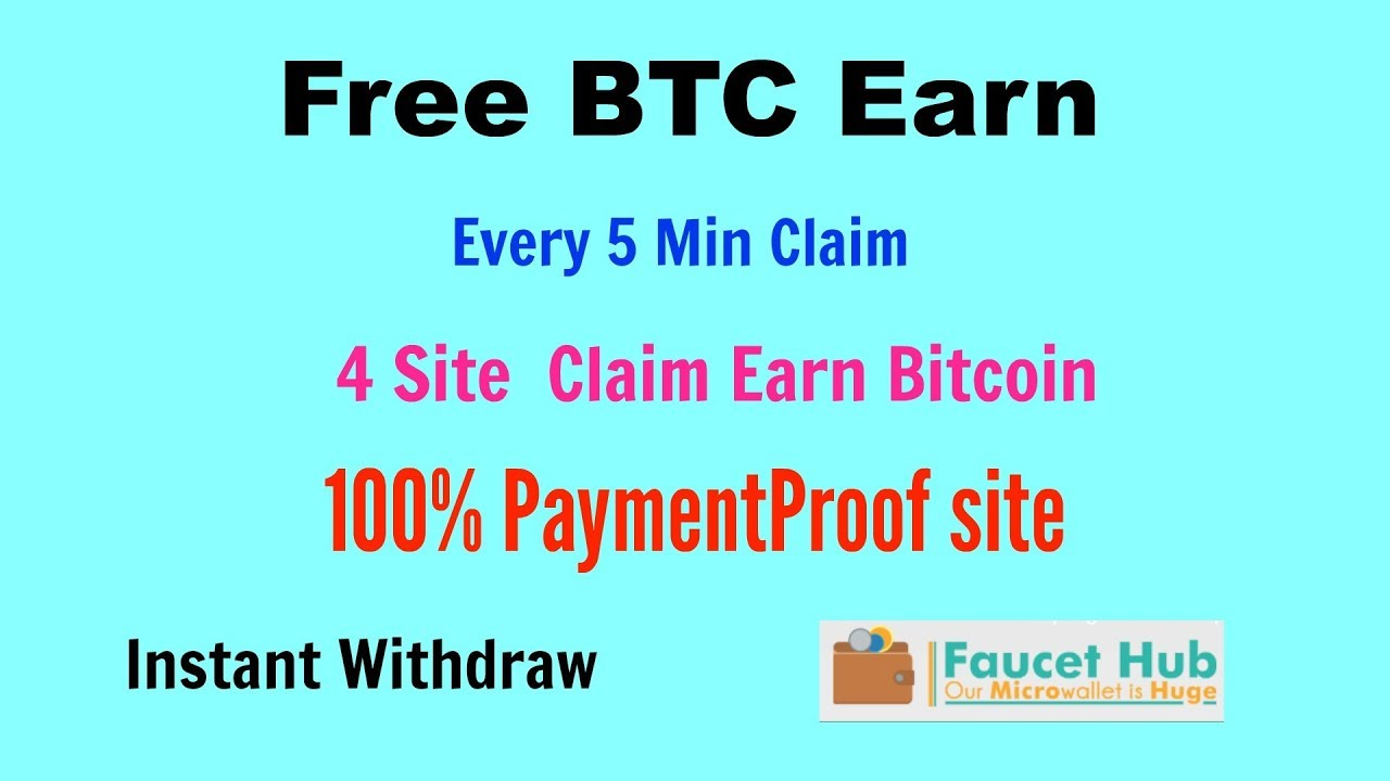 Paymentproof 4 Site|| Free Earning Bitcoin|| Instant Withdraw Faucet ...