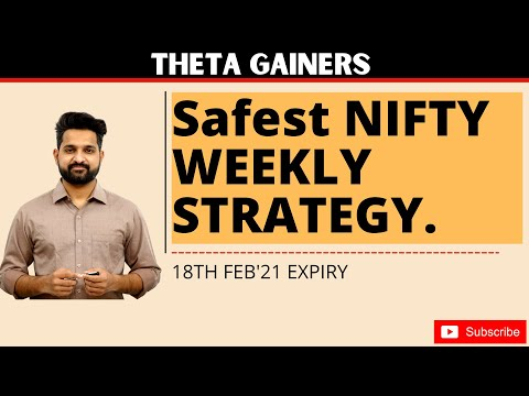 Weekly Option Selling Strategy | Theta Gainers | Expiry 18th Feb 2021