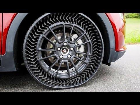 Michelin показала безвоздушную шину для серийных авто