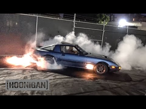 [HOONIGAN] DT 159: 400hp Turbo 13B Rotary FB RX7 by Angel Motorsports