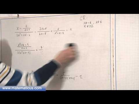 Equazione fratta e condizioni di esistenza from YouTube · Duration:  11 minutes 17 seconds