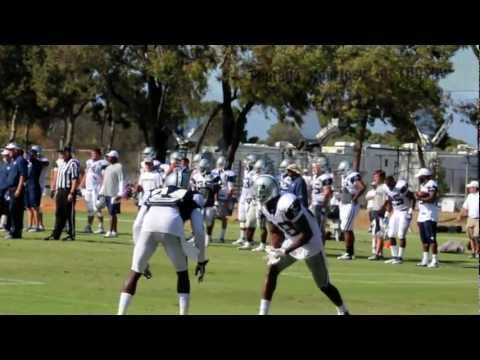 Dez Bryant vs Mo Claiborne in Cowboys camp