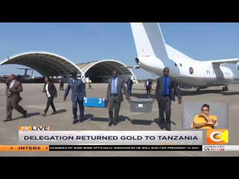 Kenya Returns To Tanzania Smuggled Gold Seized At JKIA