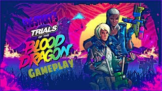 Trials of the blood dragon Gameplay Part-1