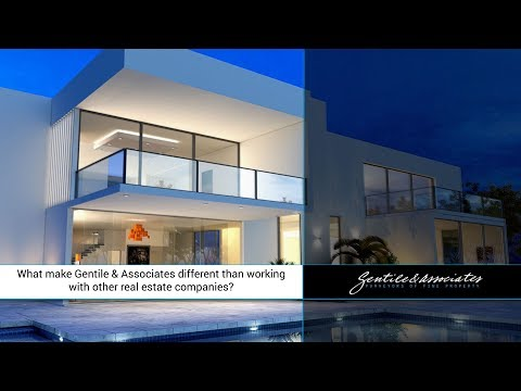 What make Gentile & Associates different than working with other real estate companies?