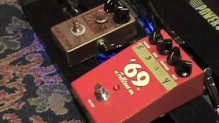 Analogman Sunface NKT 275 & Fulltone 69 Germanium Fuzz pedal shootout