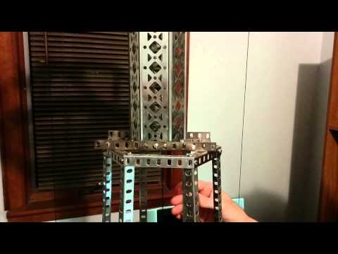 Gilbert Erector Set Parachute Jump Model: Inside look