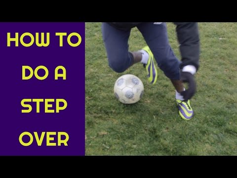 How to do the Scissors /  Step Over in football | Learn to do step overs like a pro | Tutorial