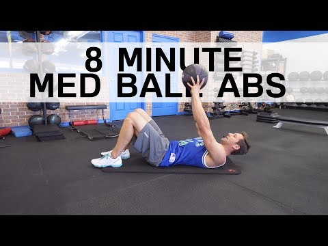 8 Minute Med Ball Ab Workout