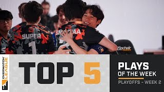Overwatch League Top 5 Plays – Playoffs – Week 2