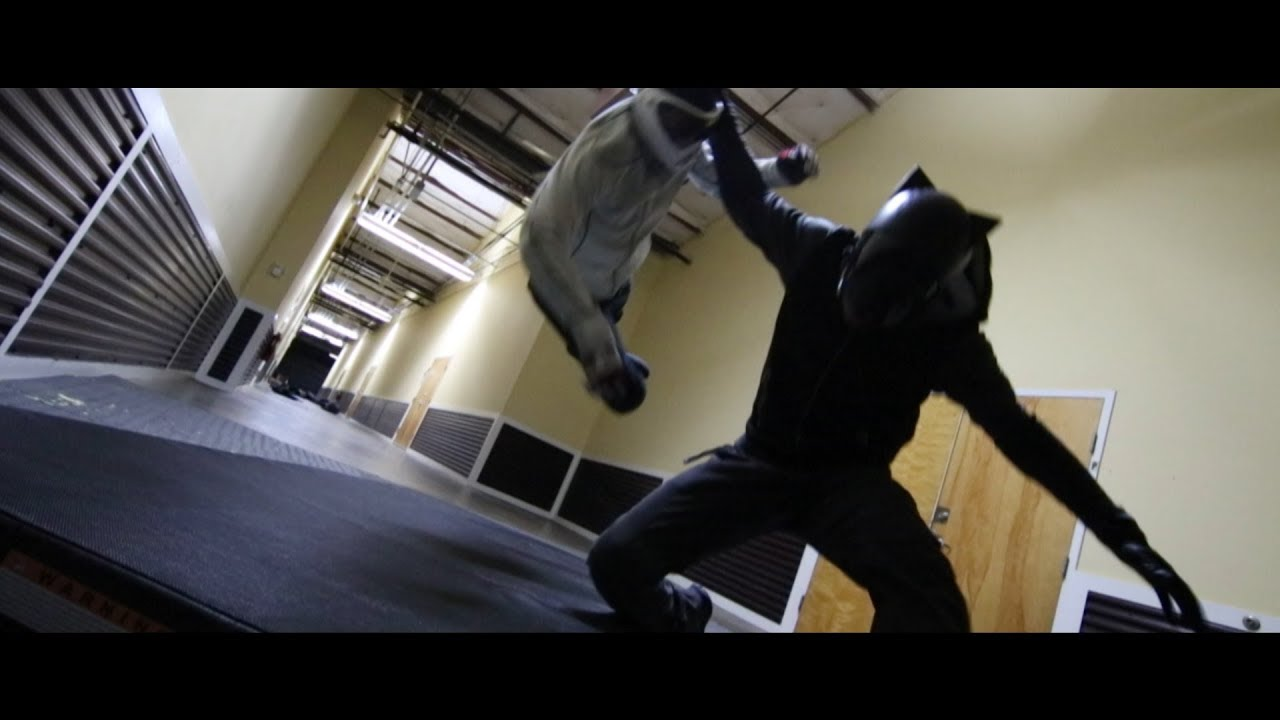 Black panther fight scene black panther vs white wolf proof of concept