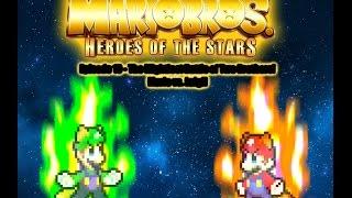Luigi  Vs Mario In Space