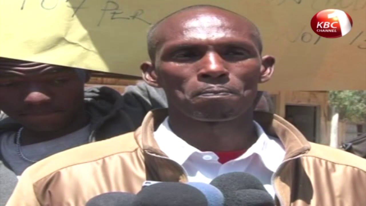 Transport operations in Maralal town was paralyzed as boda boda operators held demonstrations