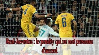 Real-Juventus : le penalty qui ne met personne d'accord