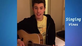 Shawn Mendes Vine compilation - Best Singing Vines w/ Song Names