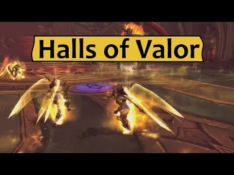 Halls Of Valor Guide - Dungeon Preview From Legion Alpha