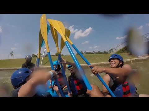 Riversport Adventures Oklahoma City River Rafting.... GoPro footage
