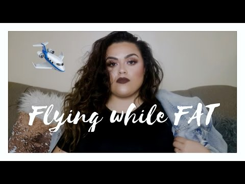 FLYING WHILE FAT. MY EXPERIENCE & TIPS (COFFEE TABLE TALK)♡♡ |GABRIELLAGLAMOUR