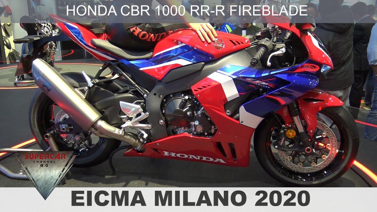 2020 New Honda Cbr 1000 Rr R Hrc Fireblade World Premiere Walkaround Video At Eicma 2019 Youtube