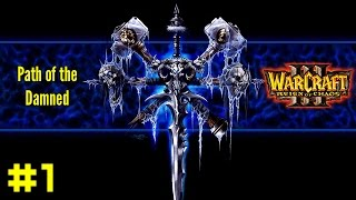Warcraft III Reign of Chaos: Undead Campaign #1 - Trudging through the Ashes