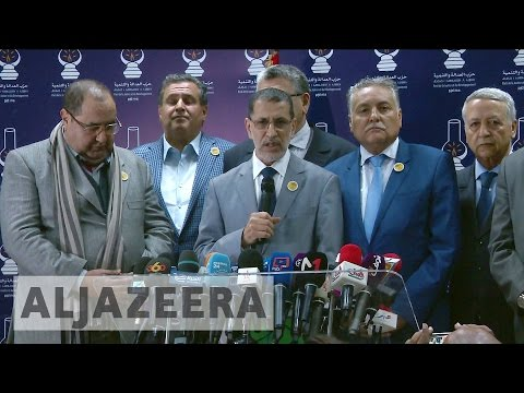 Morocco's new PM forms coalition government