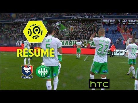 SM Caen - AS Saint-Etienne (0-2)  - Résumé - (SMC - ASSE) / 2016-17