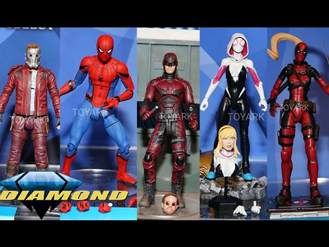 Toy Fair 2017 Reveals/Thoughts: Marvel Select Figures Netflix Daredevil, Star-Lord, Spider-Man